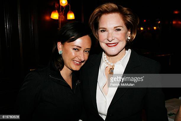 Jennifer Bell and Gail Hilson attend LEIGHTON CANDLER and FLANK DEVELOPMENT Host Cocktail Soiree Celebrating 441 East 57th Street at La Goulue on...