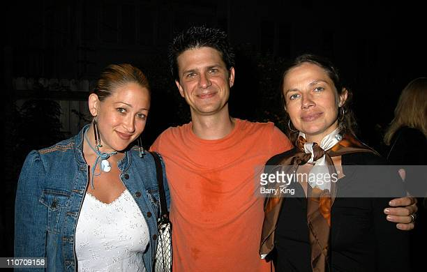 Jennifer Blanc John Lehr Justine Bateman during Los Angeles Premiere of A Series of Comedic Lectures by John Lehr at The Powerhouse Theater in Santa...
