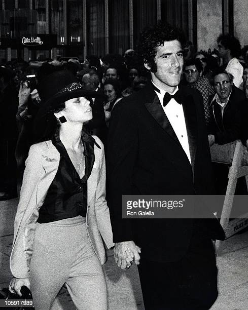 Jennifer Bogart and Elliot Gould during 28th Annual Tony Awards at Schubert Theater in New York City New York United States