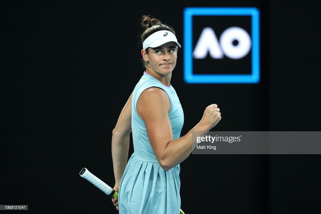 2021 Australian Open: Day 13 : News Photo