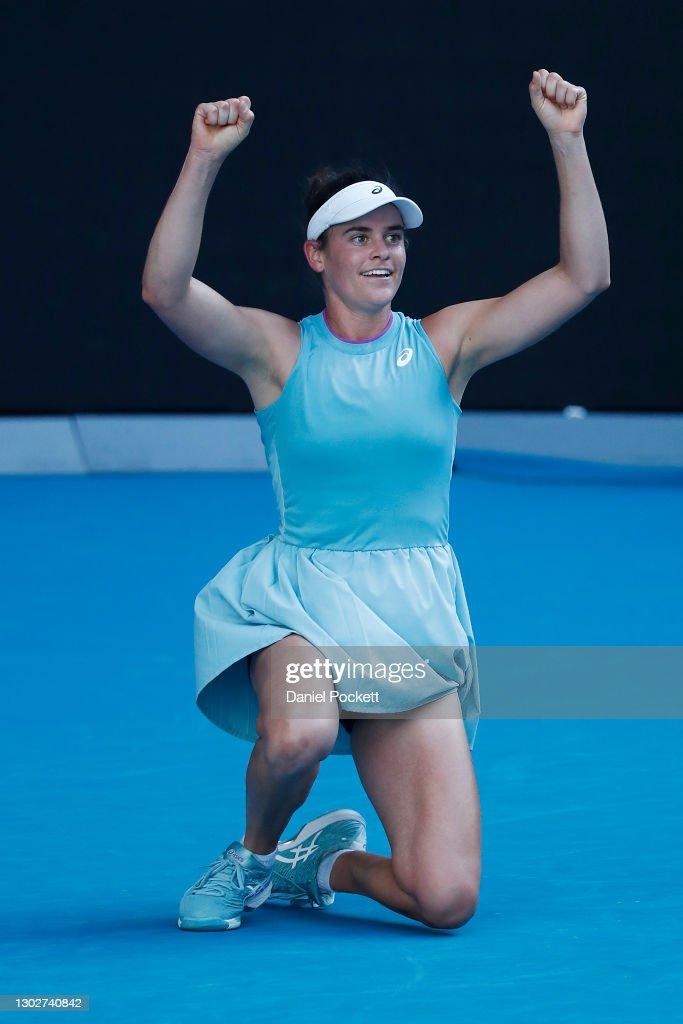 2021 Australian Open: Day 11 : ニュース写真