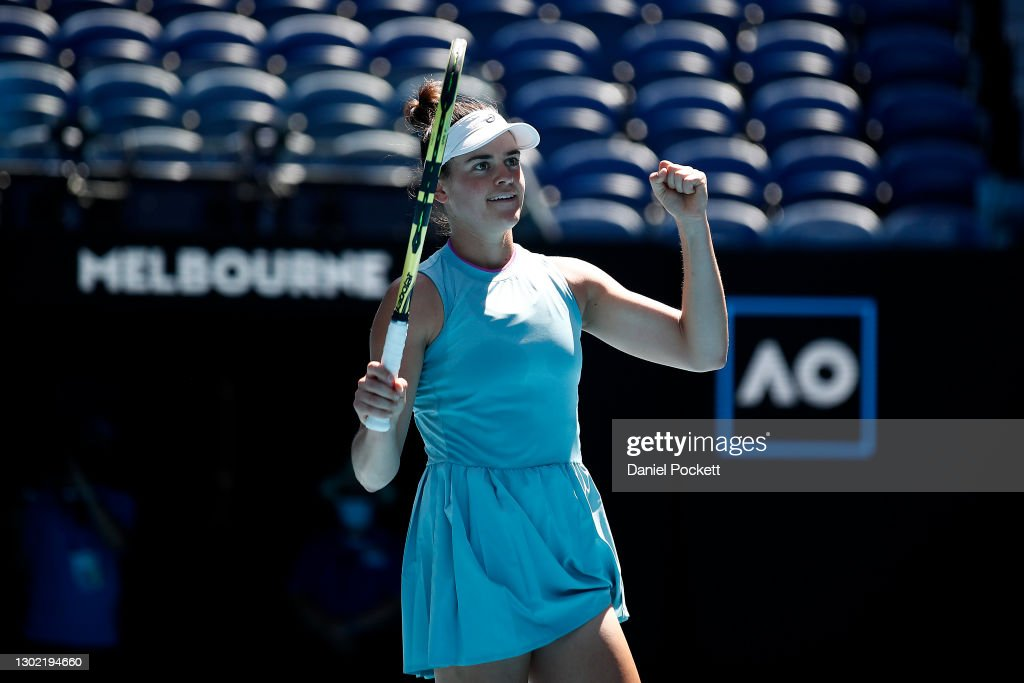 2021 Australian Open: Day 8 : News Photo