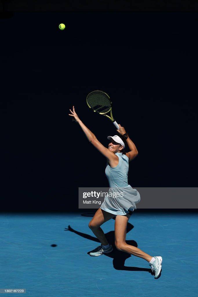 2021 Australian Open: Day 8 : ニュース写真