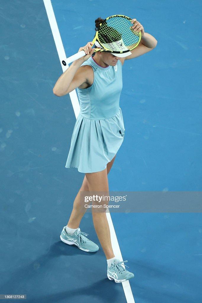 2021 Australian Open: Day 13 : ニュース写真