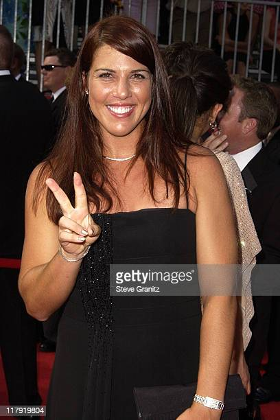 Jennifer Capriati during 2002 ESPY Awards Arrivals at The Kodak Theater in Hollywood California United States