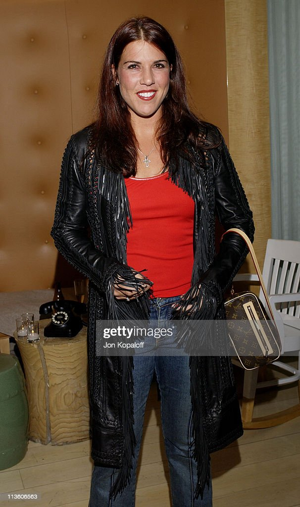 Jennifer Capriati during 2002 ESPY Awards - Kick-Off Party Featuring The ESPY Collection at Sky Bar At The Mondrian Hotel in West Hollywood, California, United States.