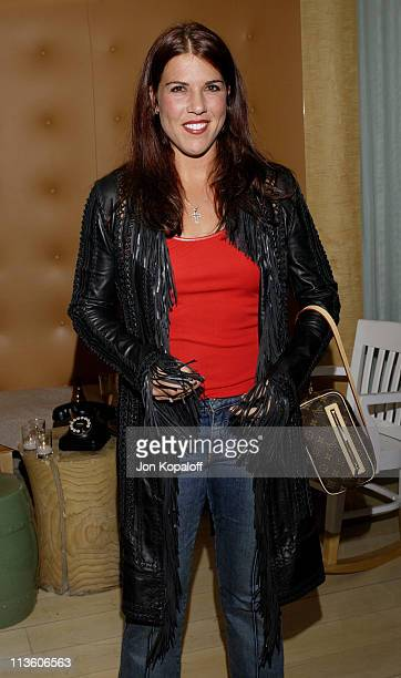 Jennifer Capriati during 2002 ESPY Awards KickOff Party Featuring The ESPY Collection at Sky Bar At The Mondrian Hotel in West Hollywood California...