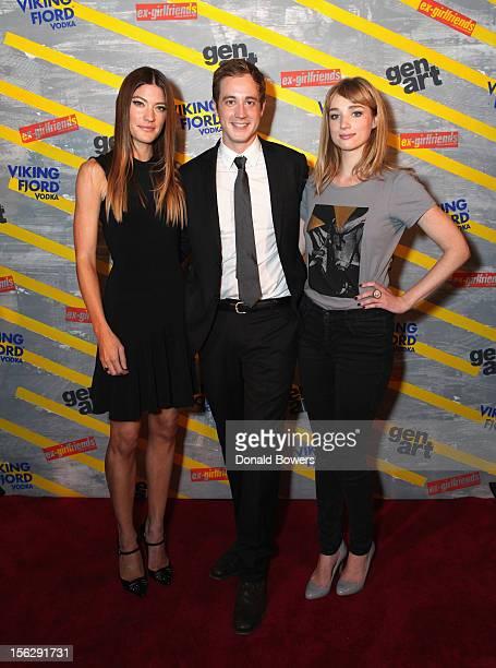 Jennifer Carpenter, Alexander Poe and Kristen Connolly attend The GenArt & Vikingfjord Vodka Present The NY Premiere Of Ex-Girlfriends at Tribeca...