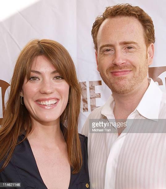Jennifer Carpenter and Robert Greenblatt President of Showtime Entertainment