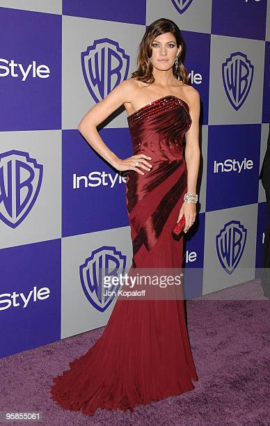 Jennifer Carpenter arrives at the Warner Brothers/InStyle Golden Globes After Party at The Beverly Hilton Hotel on January 17 2010 in Beverly Hills...
