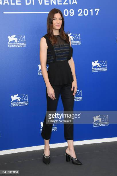 Jennifer Carpenter attends 'Brawl In Cell Block 99' photocall during the 74th Venice Film Festival at Sala Casino on September 2 2017 in Venice Italy