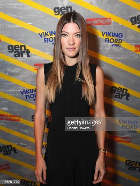 Jennifer Carpenter attends The GenArt Vikingfjord Vodka Present The NY Premiere Of ExGirlfriends at Tribeca Cinemas on November 12 2012 in New York...