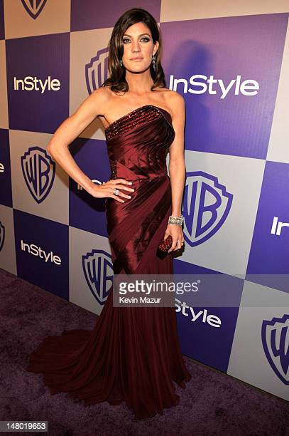 Jennifer Carpenter attends the InStyle and Warner Bros 67th Annual Golden Globes postparty held at the Oasis Courtyard at The Beverly Hilton Hotel on...