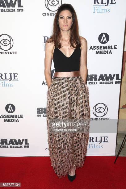 Jennifer Carpenter attends the Premiere Of RLJE Films' Brawl In Cell Block 99 at The Egyptian Theatre on September 29 2017 in Los Angeles California