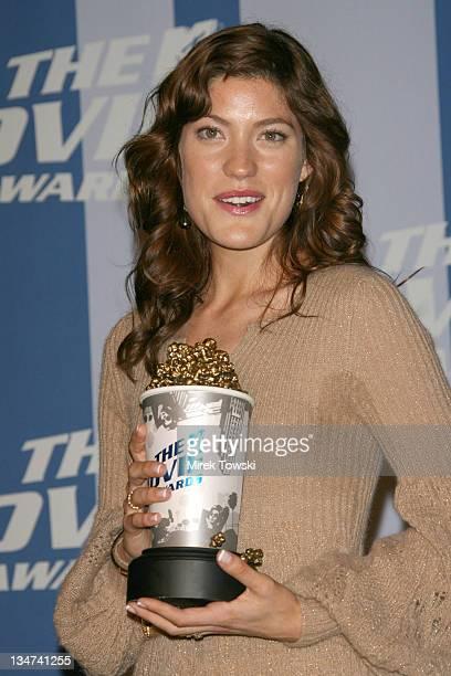Jennifer Carpenter during 2006 MTV Movie Awards Press Room at Sony Studios Culver City in Culver City California United States