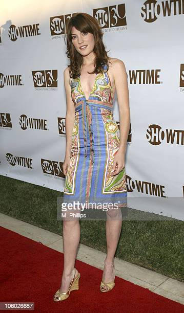 Jennifer Carpenter during Showtime's 30th Anniversary Party at Loguercio Estate in Pasadena California United States