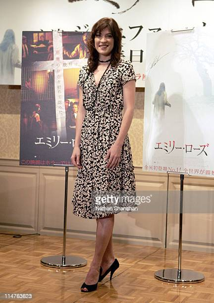 Jennifer Carpenter during The Exorcism of Emily Rose Tokyo Press Conference at Hotel Seiyo Ginza in Tokyo Japan