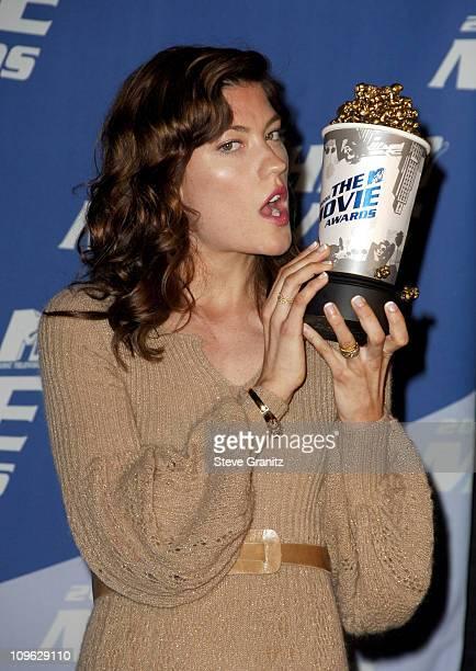 Jennifer Carpenter winner of Best Frightened Performance for The Exorcism of Emily Rose