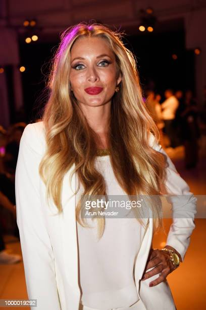 Jennifer Cirone attends Miami Swim Week powered by Art Hearts Fashion Swim/Resort 2018/19 at Faena Forum on July 15 2018 in Miami Beach Florida