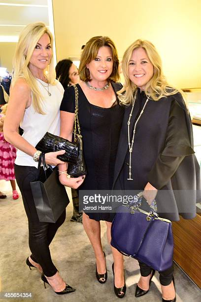 Jennifer Condas Pamela Lowry and Allison Cott attend David Yurman with RIVIERA host an instore event to celebrate the 'Enduring Style' fall campaign...