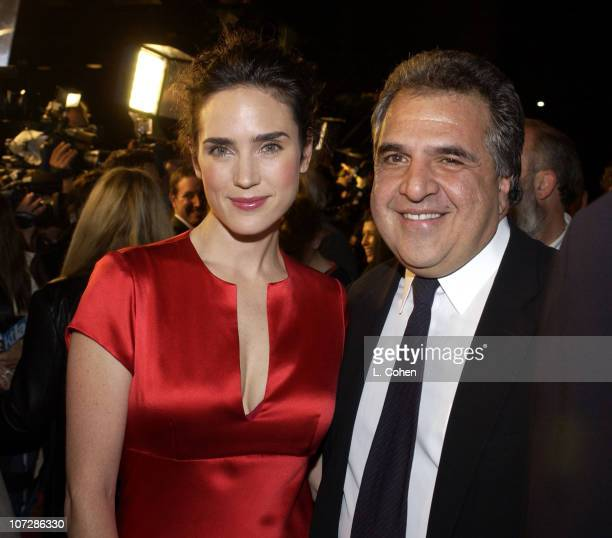"""Jennifer Connelly and Fox's Jim Gianopulous during """"Master & Commander: The Far Side of the World"""" Los Angeles Premiere - Red Carpet at Samuel..."""