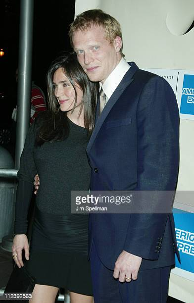 Jennifer Connelly and husband Paul Bettany during 2003 Tribeca Film Festival 'The Heart of Me' Premiere at United Artists in New York City New York...