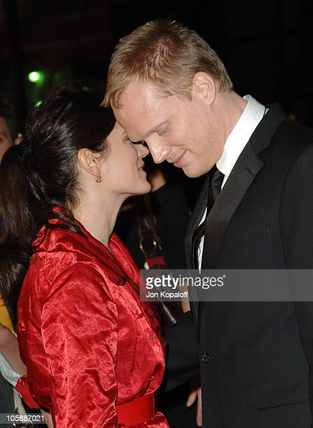Jennifer Connelly and husband Paul Bettany during 'Firewall' Los Angeles Premiere Arrivals at Grauman's Chinese Theatre in Hollywood California...