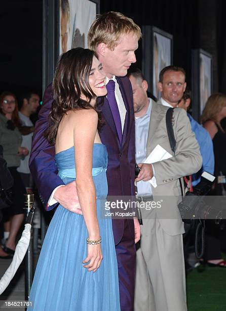 Jennifer Connelly and husband Paul Bettany during Wimbledon World Premiere Arrivals at Academy of Motion Picture Arts and Science in Beverly Hills...