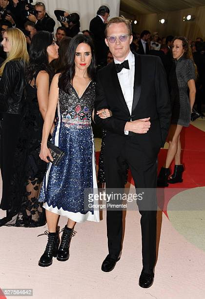 Jennifer Connelly and Paul Bettany attend the 'Manus x Machina Fashion in an Age of Technology' Costume Institute Gala at the Metropolitan Museum of...