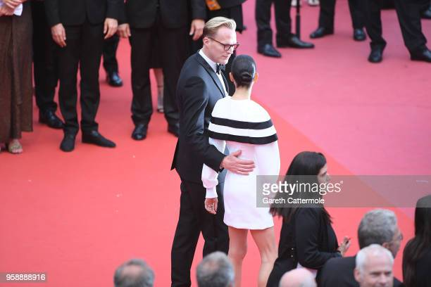 Jennifer Connelly and Paul Bettany attend the screening of 'Solo A Star Wars Story' during the 71st annual Cannes Film Festival at Palais des...