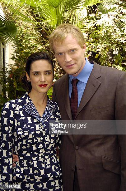 Jennifer Connelly and Paul Bettany during 11th Annual Premiere Women In Hollywood Lunch at Four Seasons in Beverly Hills California United States