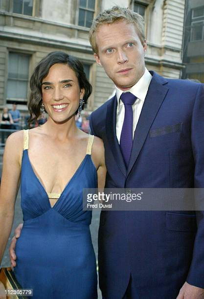 Jennifer Connelly and Paul Bettany during 7th Annual GQ Man of the Year Awards in London Great Britain