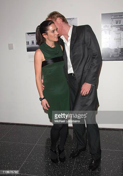 Jennifer Connelly and Paul Bettany during 'Blood Diamond' New York City Screening November 30 2006 at MoMa in New York City New York United States