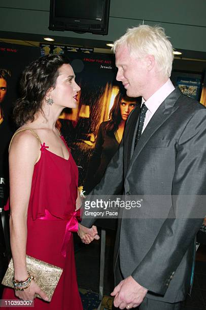 Jennifer Connelly and Paul Bettany during 'Dark Water' New York City Premiere Inside Arrivals at Clearview Chelsea West Cinema in New York City New...