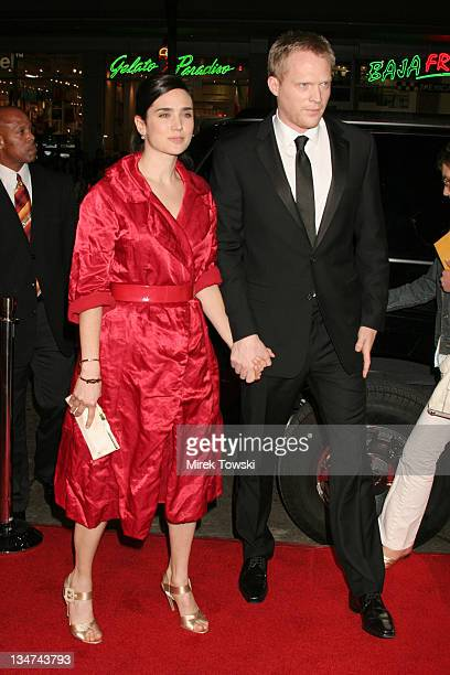 Jennifer Connelly and Paul Bettany during 'Firewall' Premiere February 2 2006 at Grauman's Chinese Theatre in Hollywood California United States