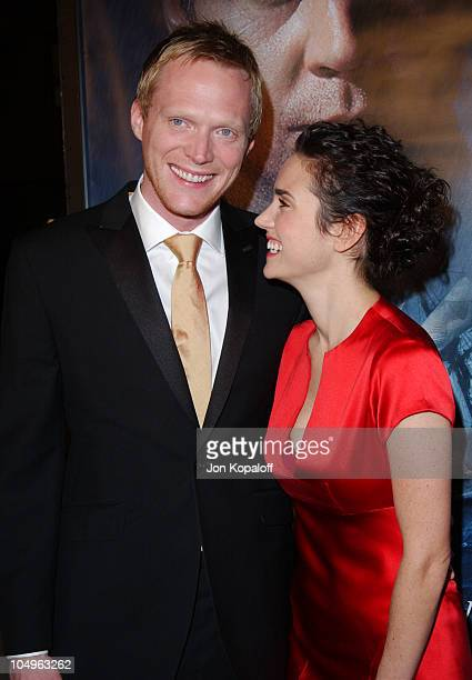 Jennifer Connelly and Paul Bettany during 'Master And Commander The Far Side Of The World' Los Angeles Premiere at The Academy Of Motion Picture Arts...
