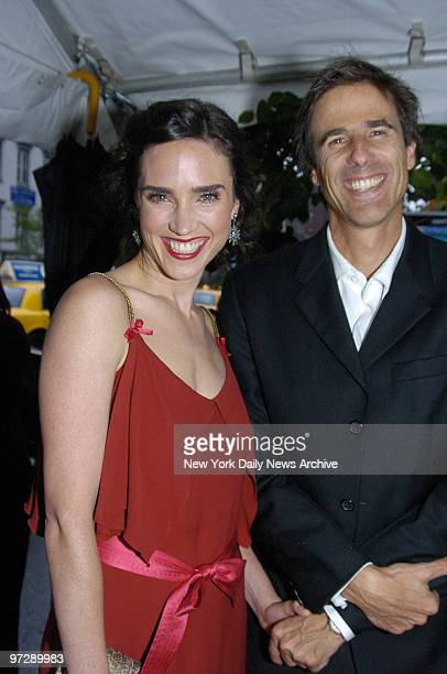 """Jennifer Connelly and Walter Salles are on hand at the Clearview Chelsea West Cinema on W. 23rd St. For the world premiere of """"Dark Water."""" She stars..."""
