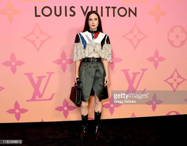 Jennifer Connelly arrives at Louis Vuitton Unveils Louis Vuitton X An Immersive Journey at Louis Vuitton X on June 27 2019 in Beverly Hills California