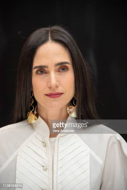 Jennifer Connelly at the Alita Battle Angel Press Conference at the Four Seasons Hotel on February 07 2019 in Beverly Hills California