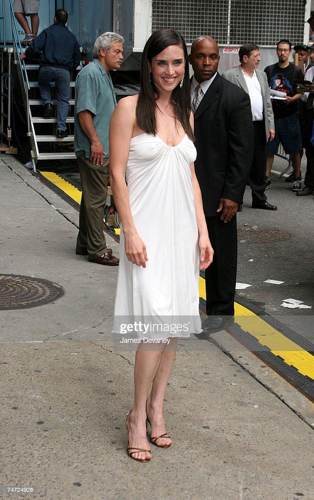 Jennifer Connelly At The Ed Sullivan Theatre In New York