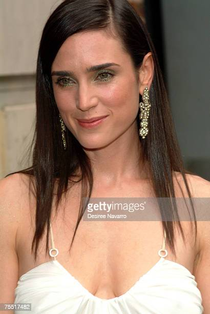 Jennifer Connelly at the Jennifer Connelly Visits The Late Show with David Letterman June 30 2005 at Ed Sullivan Theater in New York City New York