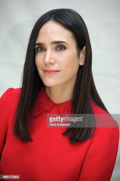 Jennifer Connelly at the 'Shelter' Press Conference at The Beverly Hilton Hotel on November 8 2015 in Beverly Hills CA