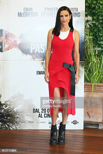 Jennifer Connelly attends a photcall for 'American Pastoral' at Bernini Hotel on October 3 2016 in Rome Italy