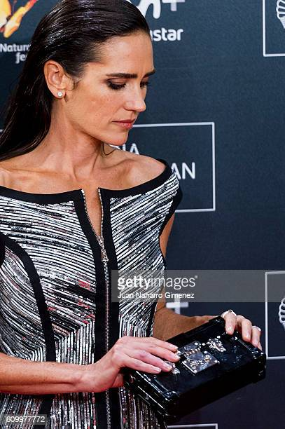 Jennifer Connelly attends 'American Pastoral' premiere during 64th San sebastian Film Festival at Kursaal on September 23 2016 in San Sebastian Spain