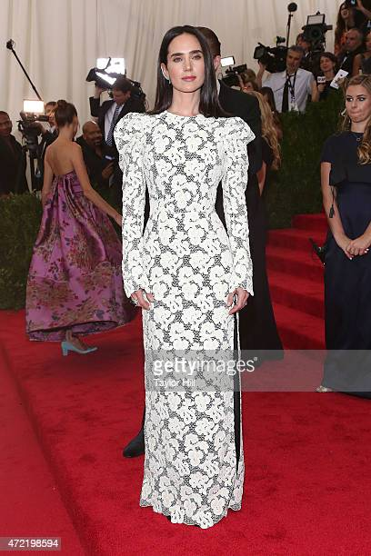 Jennifer Connelly attends 'China Through the Looking Glass' the 2015 Costume Institute Gala at Metropolitan Museum of Art on May 4 2015 in New York...