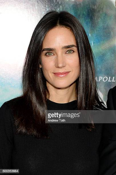 Jennifer Connelly attends In The Heart Of The Sea New York premiere at Frederick P Rose Hall Jazz at Lincoln Center on December 7 2015 in New York...