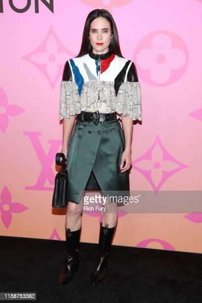 Jennifer Connelly attends Louis Vuitton Unveils Louis Vuitton X: An Immersive Journey on June 27, 2019 in Beverly Hills, California.