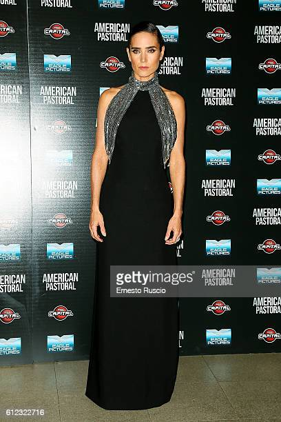 Jennifer Connelly attends the 'American Pastoral' premiere at Cinema Barberini on October 3 2016 in Rome Italy