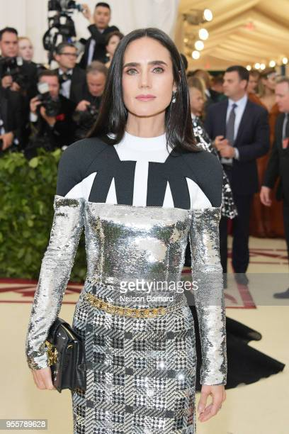 Jennifer Connelly attends the Heavenly Bodies Fashion The Catholic Imagination Costume Institute Gala at The Metropolitan Museum of Art on May 7 2018...