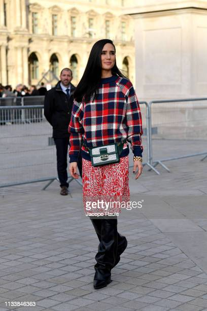 Jennifer Connelly attends the Louis Vuitton show as part of the Paris Fashion Week Womenswear Fall/Winter 2019/2020 on March 05 2019 in Paris France